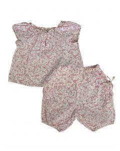 Blouse & shorts